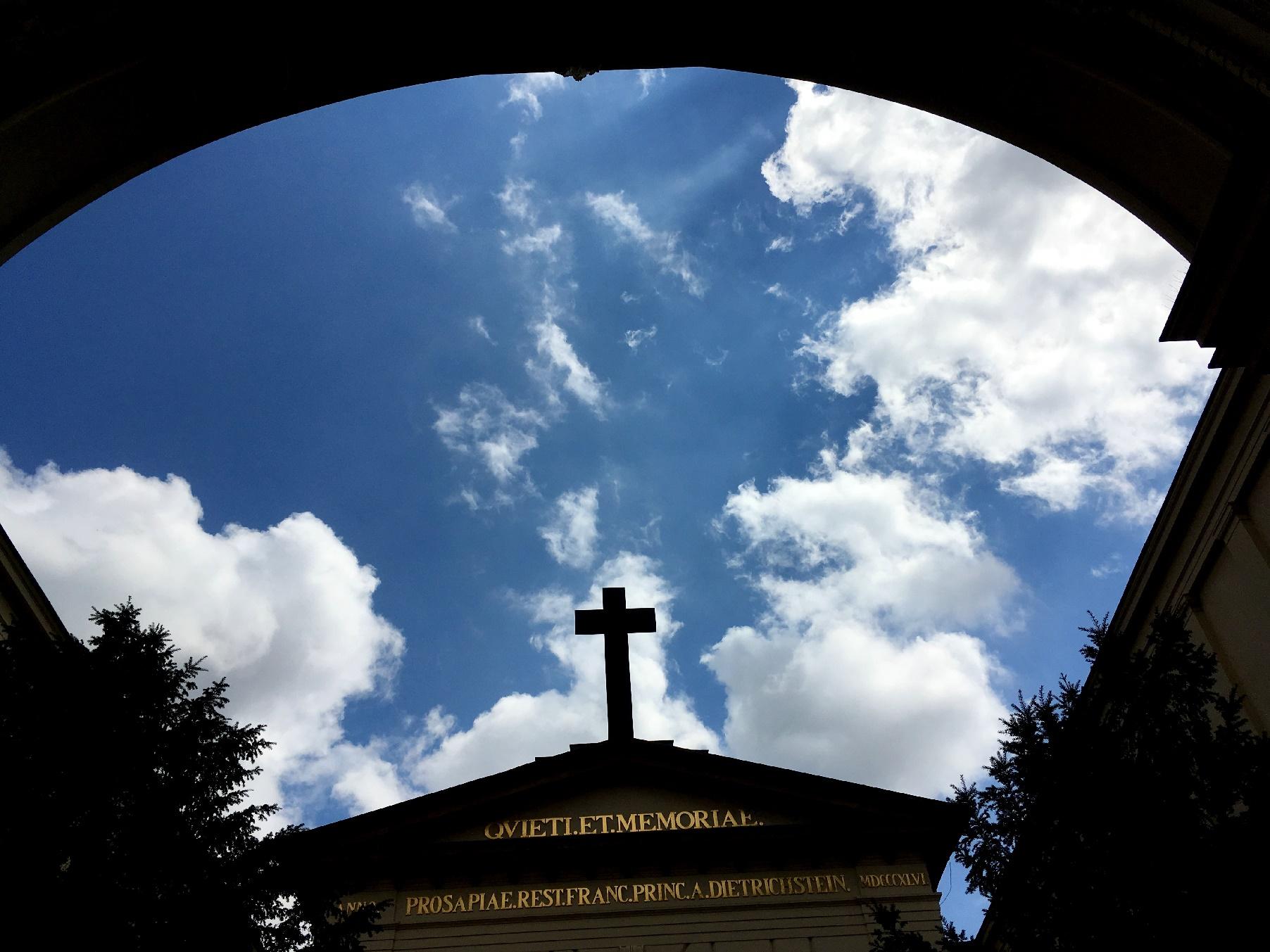 Still a part of the Dietrichstein tomb.