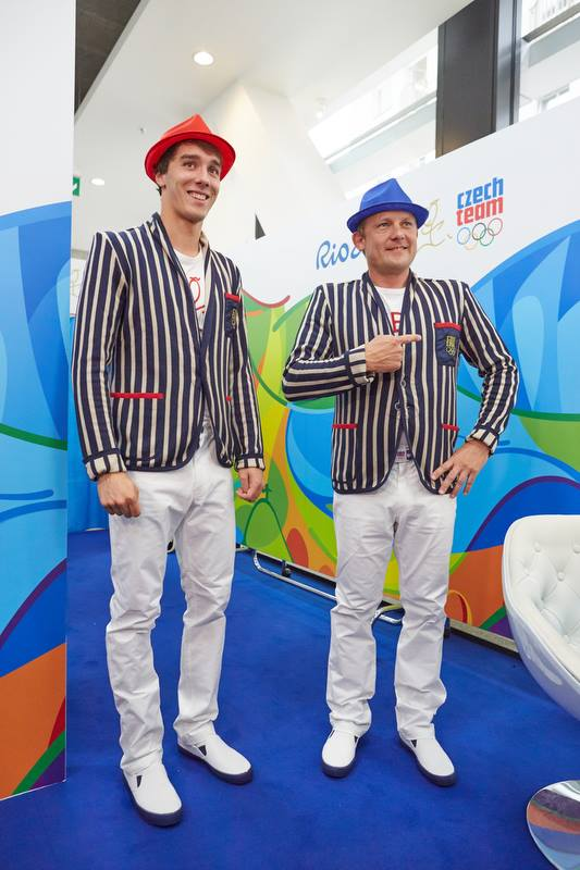 The Czech team clothing. I mean, why?