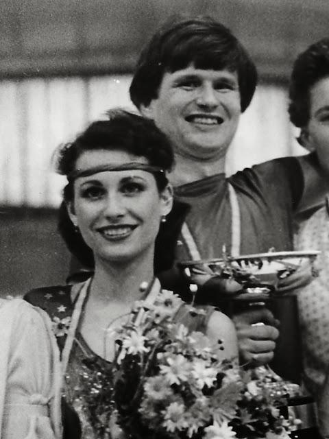Mistři světa! Anna Pisanská a Jiří Musil v roce 1982 na profesionálních mistrovství světa ve Španělsku.