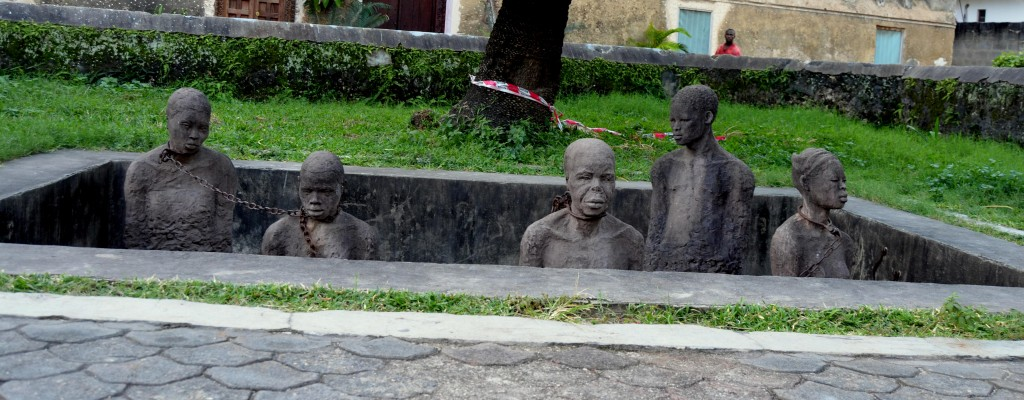 Památník trhu s otroky připomíná nehezkou minulost.